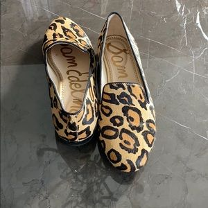 Sam Edelman size 8 leopard loafers, great cond!